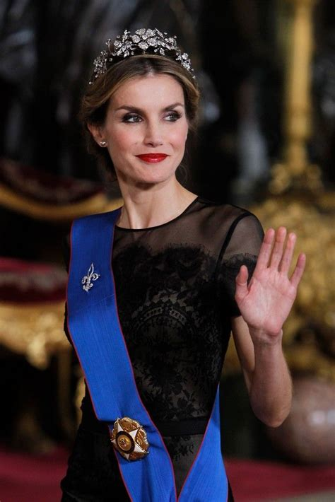 Banks Receives Royal From King by King Felipe And Letizia Receive Chilean President