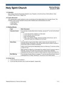 Church Minutes Template by Agenda Template For Church Meeting Bestsellerbookdb