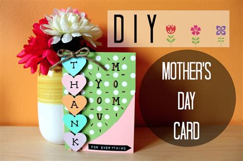 simple mothers day cards to make diy easy s day card i simple