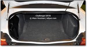 Dodge Charger Trunk Space Dodge Challenger The 2011 2014 Cars