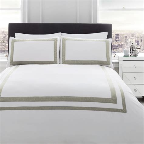 White Bed Linen Sets Norada White Bedding Set