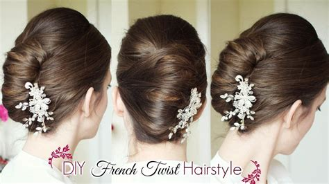 Twist Updo Hairstyles by Diy Twist Updo Updo Hairstyles