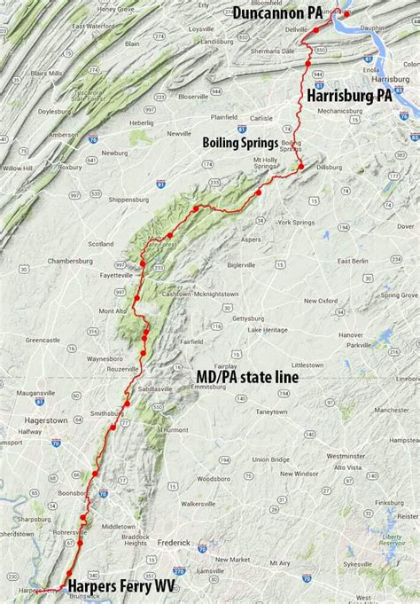 appalachian trail best section low carbon appalachian trail section hike via train