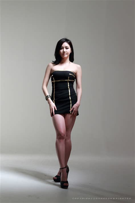 Set Nazla Mini Dress Korea han ga eun in black mini dress asian