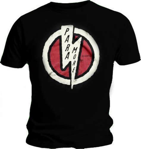 Tshirt Paramour official t shirt paramore logo lightning bolt riot all sizes