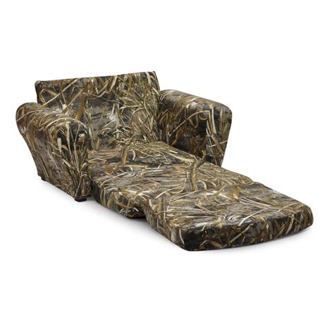 max 4 camo recliner realtree camo furniture realtree max 5 kids sleepover