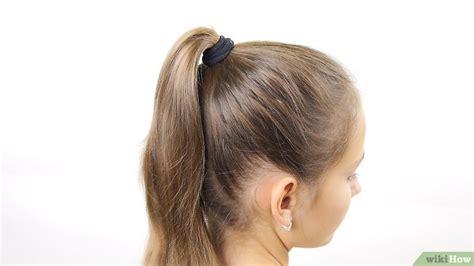 Kuncir Rambut Spiral Karet Rambut 6 cara untuk membuat cepol rambut wikihow