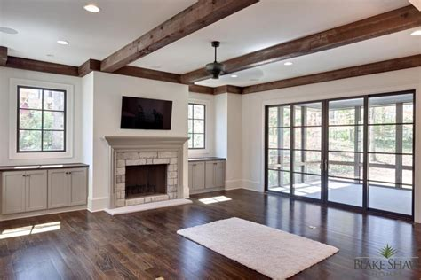 Open Seating Living Room by French Manor In Brookhaven Blake Shaw Homes Atlanta