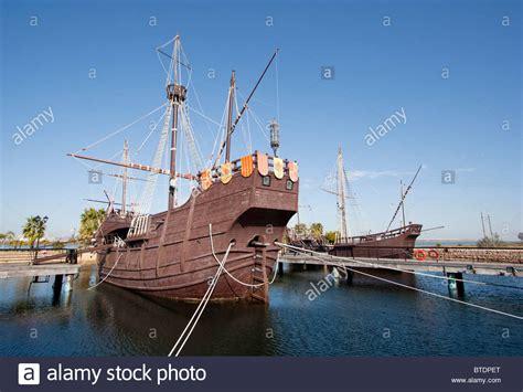 christopher columbus boat in columbus ohio replica of columbus ship the santa maria huelva spain