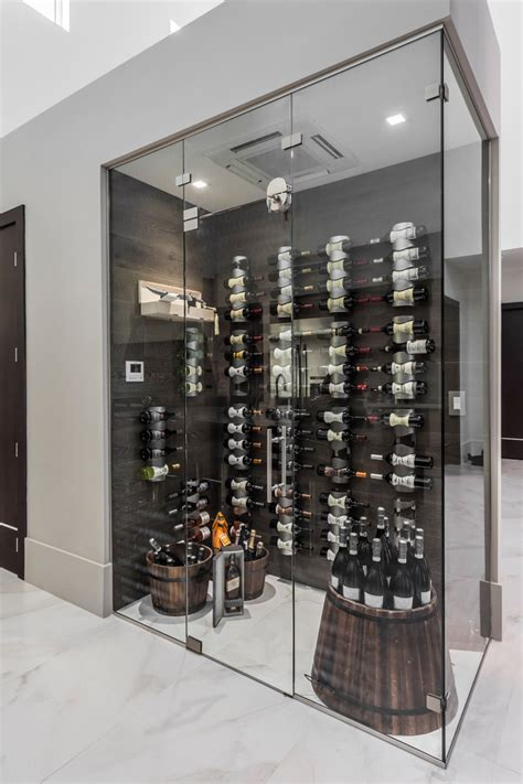 contemporary wine cellar designs   add  touch