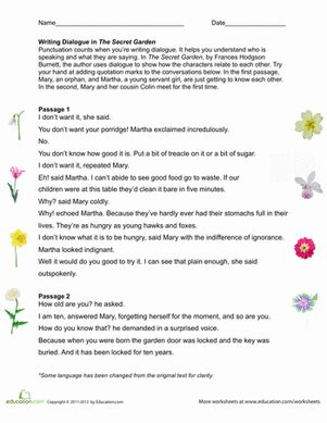 Quotation Marks Worksheets by Using Quotation Marks Worksheet Education