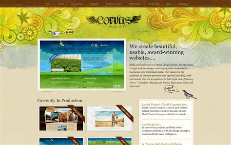 creative web page design 50 creative website designs for your inspiration cool