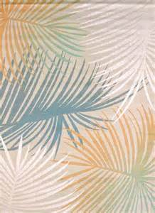 palm leaves blue rug tropical area rugs by united