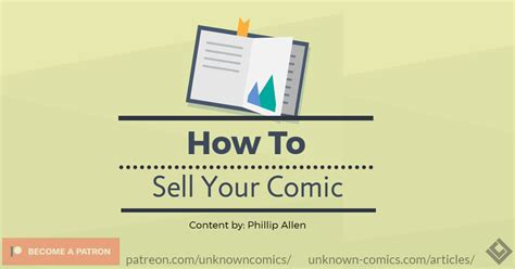 how to sell your read here to learn how to sell your comic
