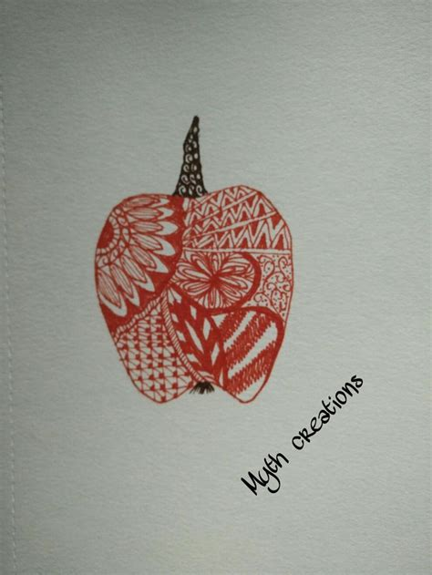 fruit zentangle 42 best zentangle fruit images on zentangles
