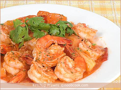what to cook for new years ketchup prawns recipe