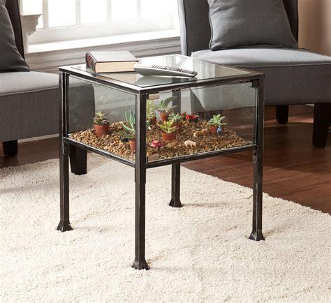 terrarium table amazon com southern enterprises ayers terrarium display