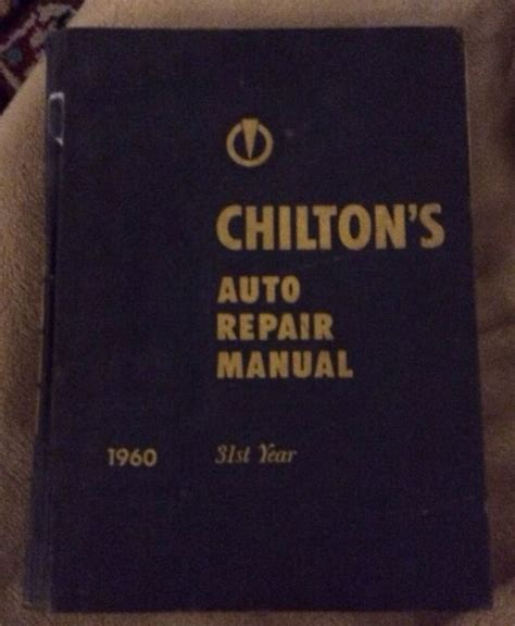 service manual what is the best auto repair manual 2003 toyota celica engine control 1999 chilton s chilton chiltons auto repair manual 1960 31st year ebay