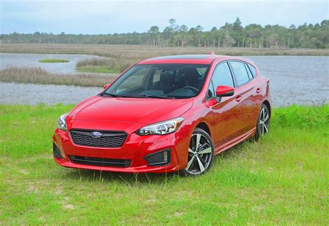 2017 subaru impreza hatchback red 2017 subaru impreza 2 0i sport hatchback review test