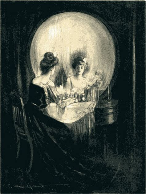 Vanity Optical Illusion by Three Is Enough Charles Allan Gilbert S All Is Vanity