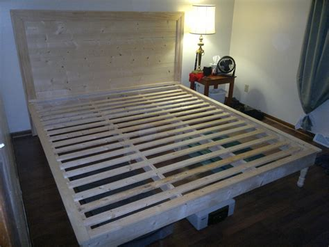 ana white hailey platform bed  headboard diy projects