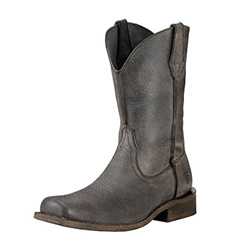 cowboy boot store ariat men s rambler wide square toe western cowboy boot