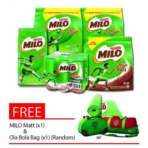 Milo Malaysia 3in1 3stick the other side of me apa yang best sempena lazada revolution 2016