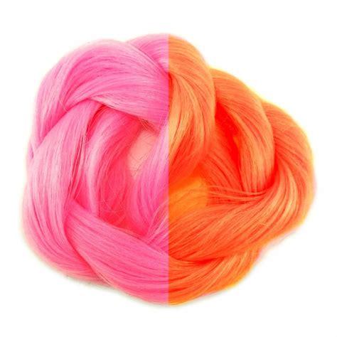 chagne pink color thermal color change hair pink orange
