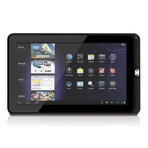 10 android tablet coby kyros 10 1 inch android powered tablet the tech journal