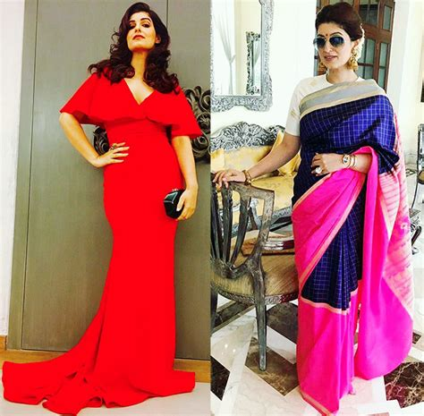 Twinkle Khanna Wardrobe by S Most Stylish Moments Of 2017 Rediff