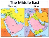 middle east map bible times the ark foundation bookstore