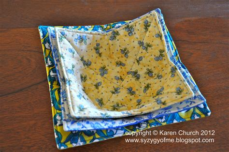 sewing pattern bowl holder syzygy of me microwave bowl potholder and tutorial