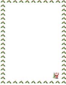 santa borders new calendar template site