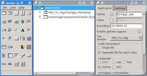 python tutorial gui pdf wxglade a gui builder for wxwidgets wxpython