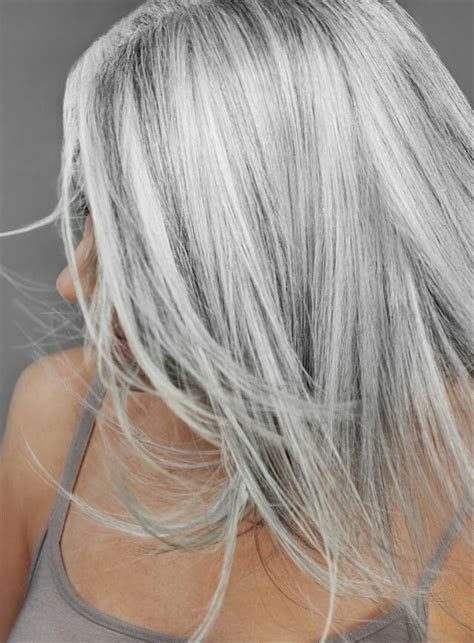 hair color for black salt pepper color wants to go blond 25 best ideas about silver hair highlights on pinterest