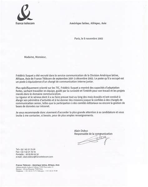 Lettre De Recommandation Notaire Mod 232 Le Lettre De Recommandation Tout Ce Qu Il Faut Y Mettre