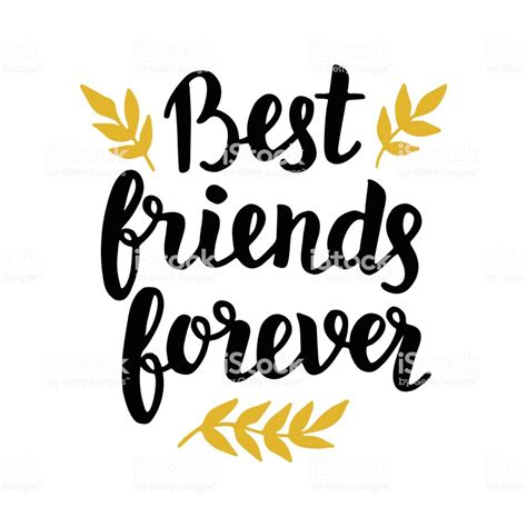 best friends forever best friends forever stock vector art more images of art