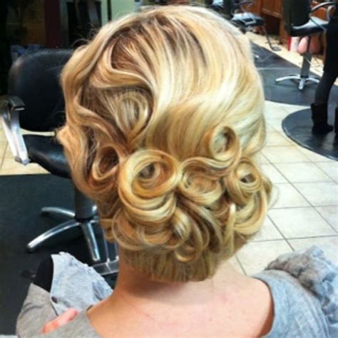 Wedding Hairstyles Pin Curls by Style Updo For Weddings Prom Ect