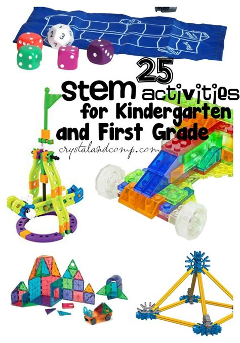 STEM Activities for Kindergarten and First Grade