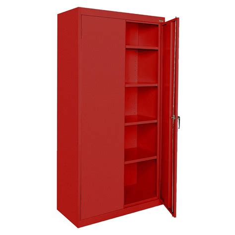 72 steel storage cabinet sandusky classic series 72 in h x 36 in w x 18 in d