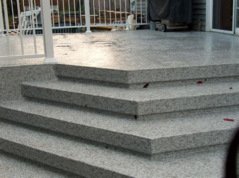 recouvrement patio beton rev 234 tement membrane de pvc pour balcon escalier patio et