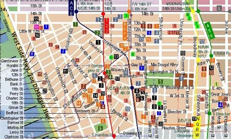 map of new york villages trail trs greenwich architectural highlights