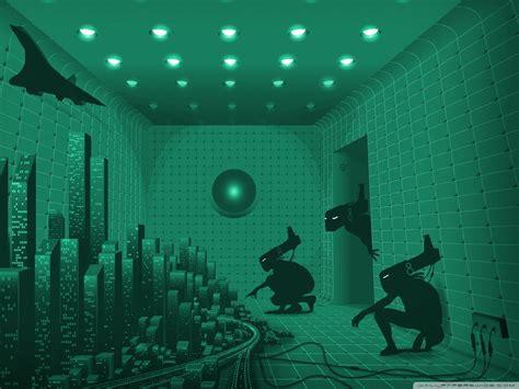 strange room  hd desktop wallpaper  dual monitor