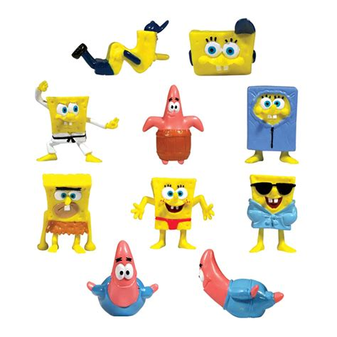 novelty toys and games spongebob squarepants toy figures