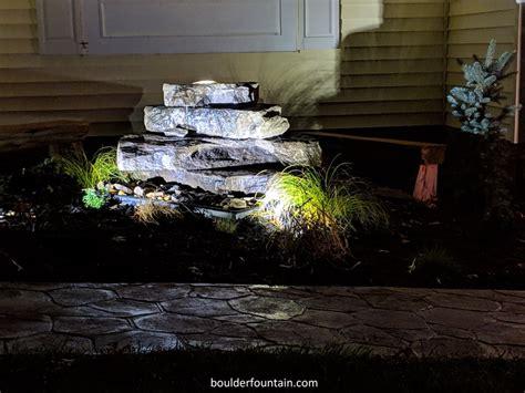 buy bubbling rock fountains  boulder fountain ship