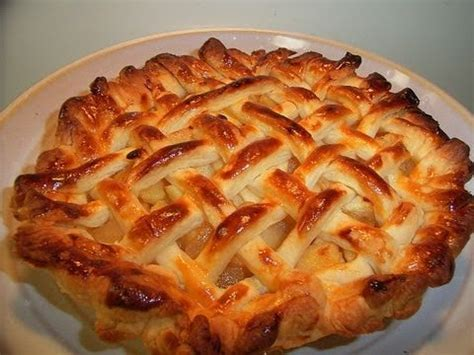 Japanese Pie how to make apple pie in japan アップルパイの作り方