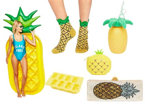 pineapple trend 18 ways to pineapple all the things this summer