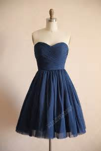 navy blue dress vintage navy blue polka dots tulle wedding dress by misdress