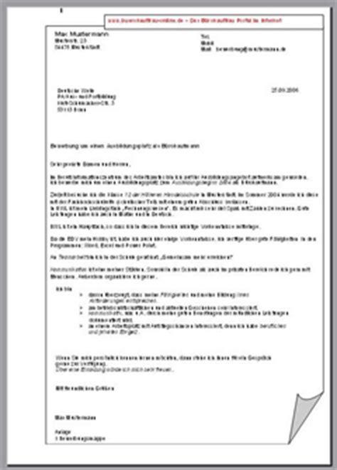 Bewerbungsschreiben Ausbildung Umschulung Bewerbungsschreiben Muster Bewerbungsschreiben B 252 Rokauffrau