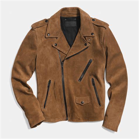 mens tan motorcycle mens tan leather biker jacket hollister male models picture